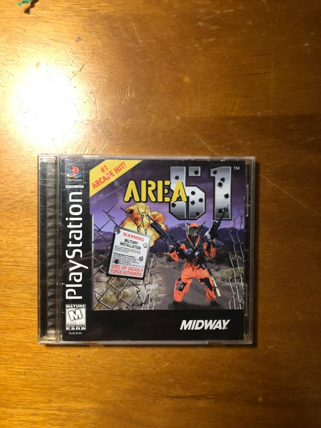 Area 51 PS1