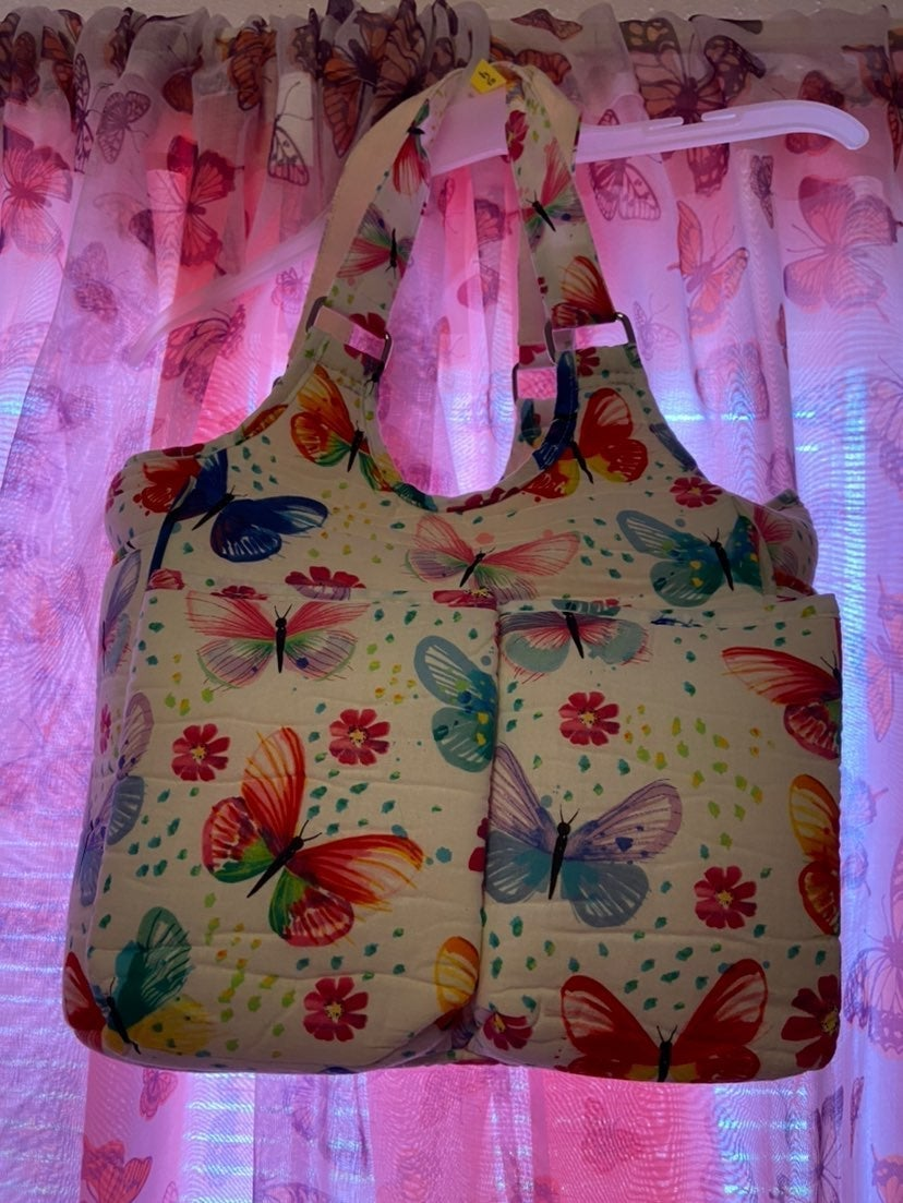 Yarnology Butterfly Tote