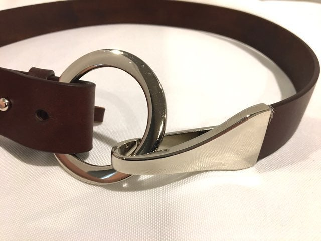 TALBOTS Leather Harness Belt