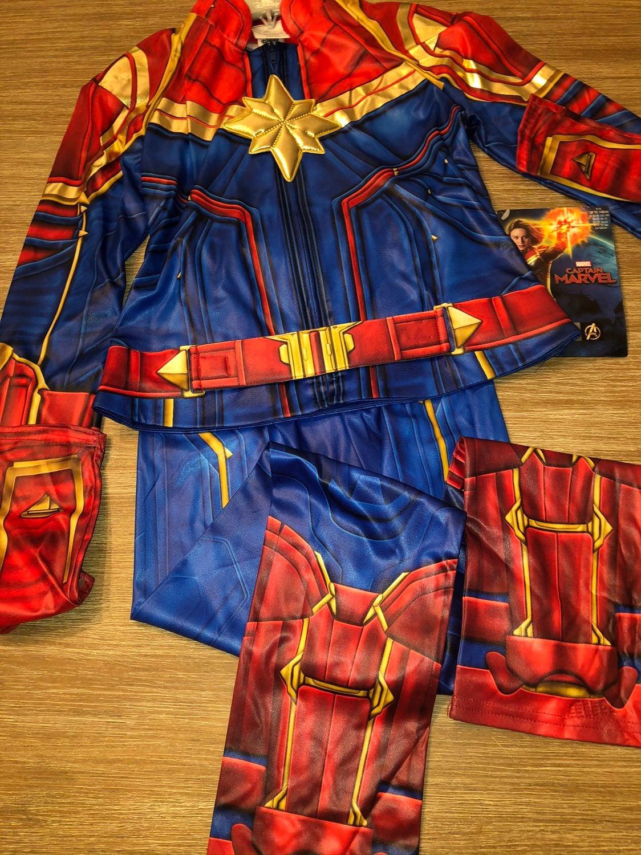 Captain America Marvel Costume 9/10 NEW