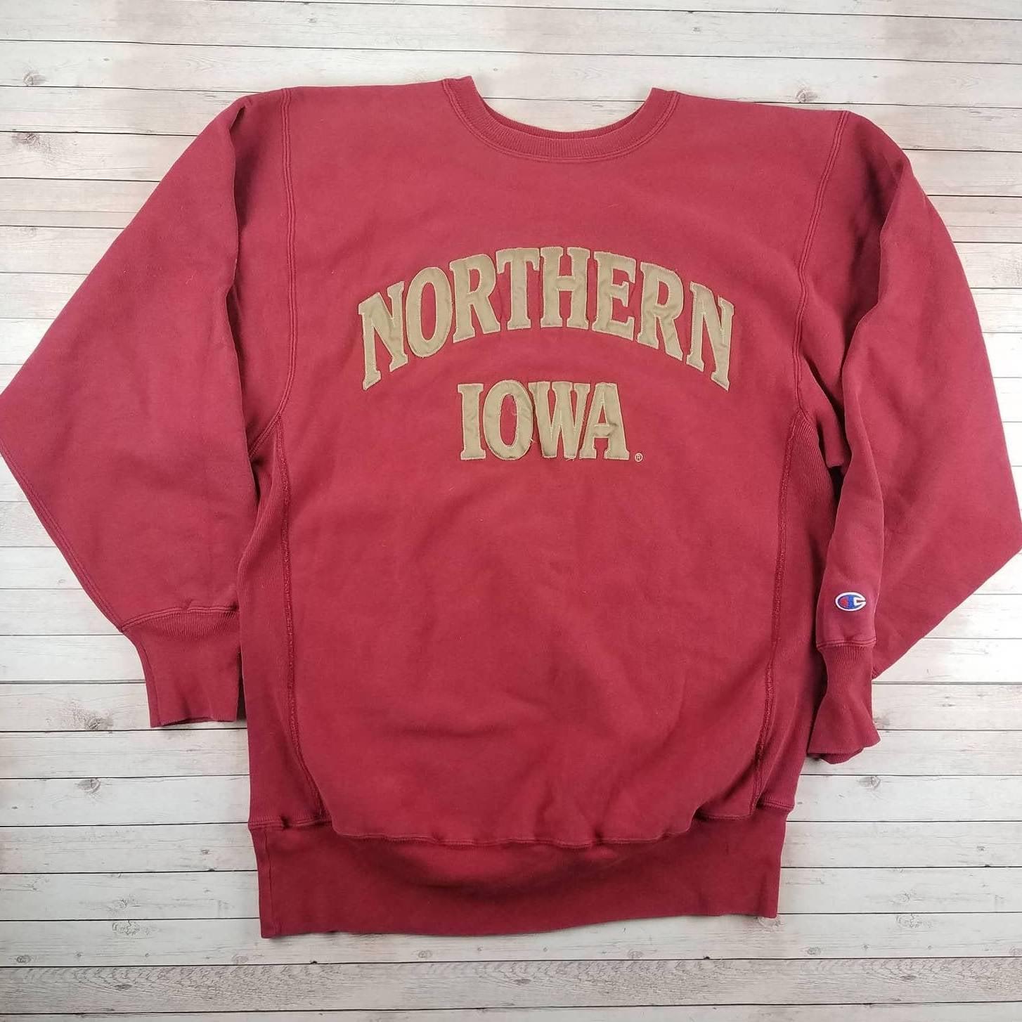 VTG 90s Iowa Reverse Weave Sweatshirt