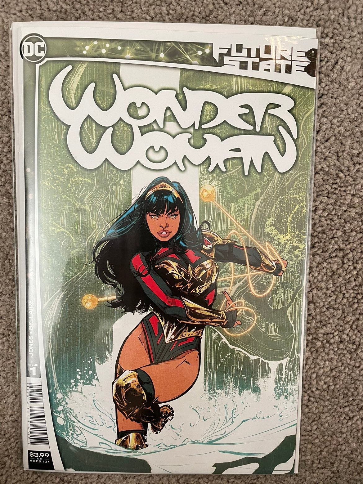 Future State Wonder Woman 1 KEY