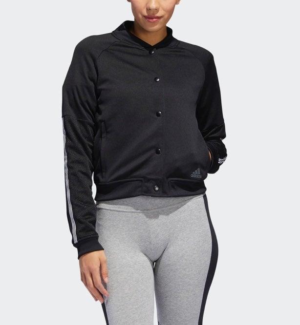 Womens Adidas Snap Jacket