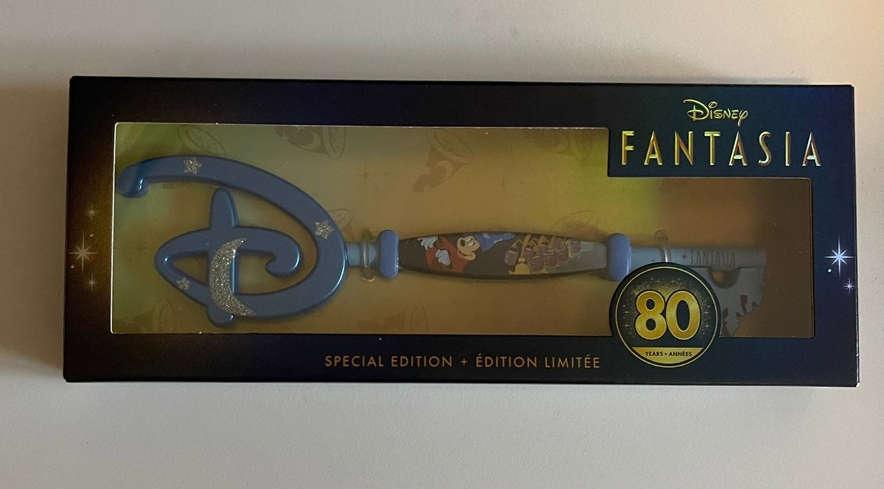 Boxed Fantasia Disney Store Key