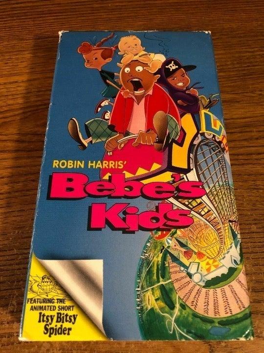 Bebe's Kids VHS Used Cartoon VERY RARE