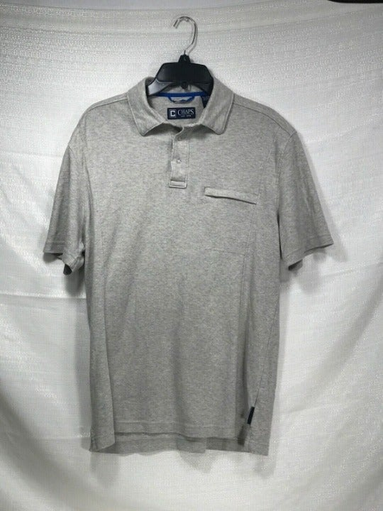 Chaps Polo with Zipper Pocket