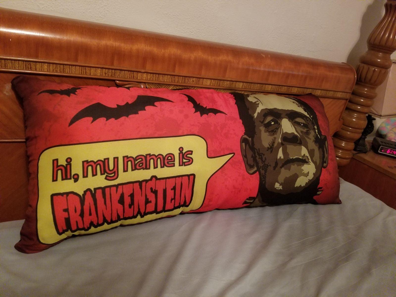 frankenstein body pillow