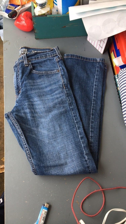 "Mens sig 28"""" Levis slim straight jeans"
