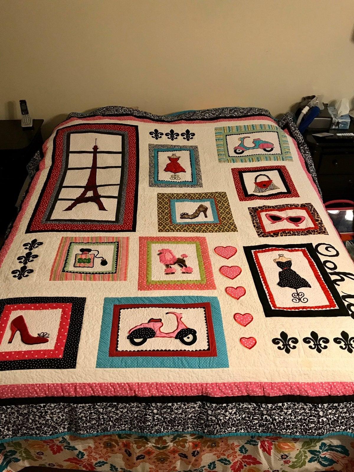 Paris Handmade Quilt