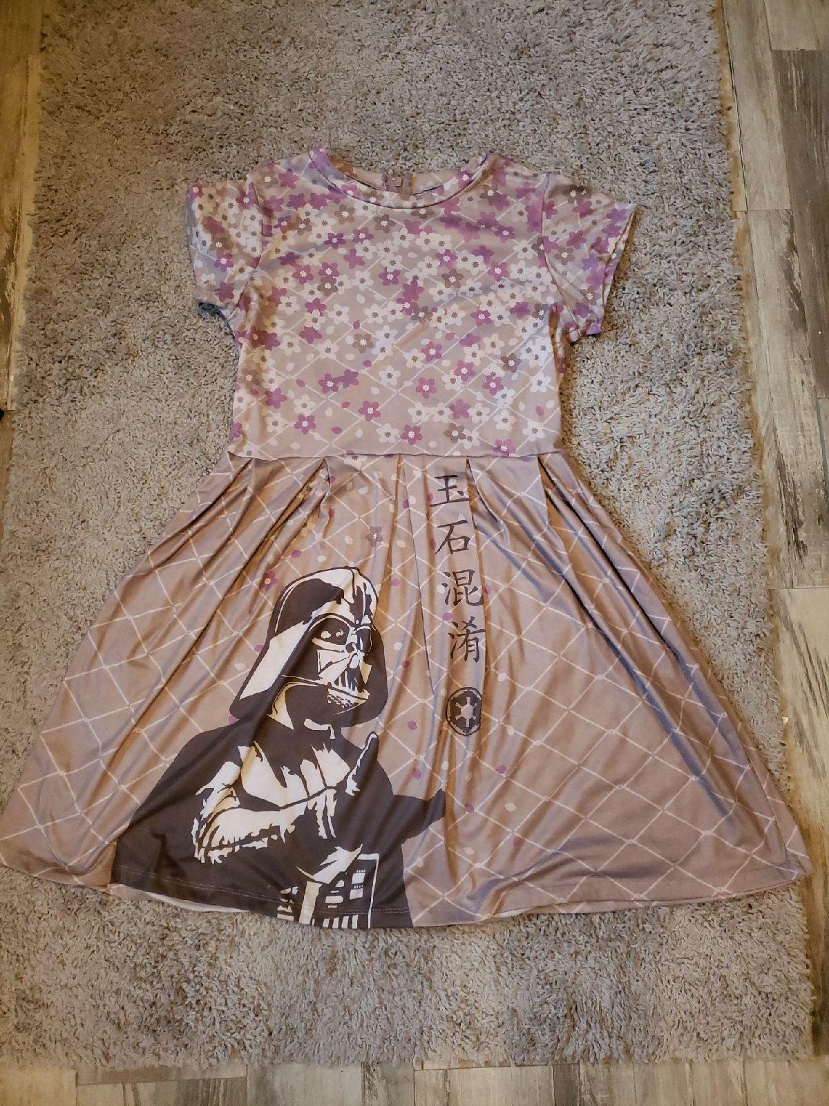 Darth Vader Women's Dress Size L