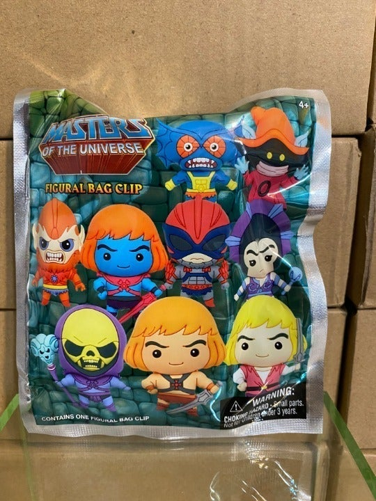 Masters of The Universe Foam Bag Clip
