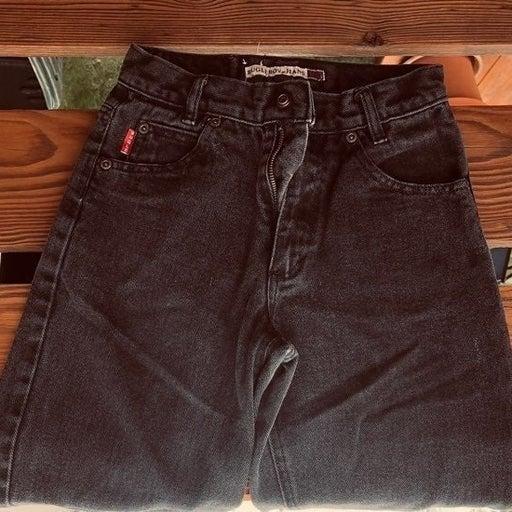 Boys Youth Bugle Boy Black Jeans