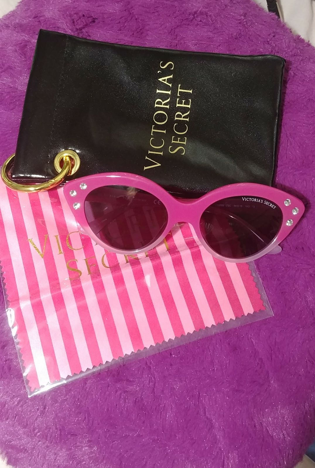 VS rhinestone cat-eye sunglasses