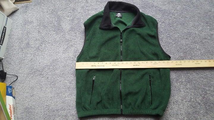 Weatherproof size XXL green Fleece Vest