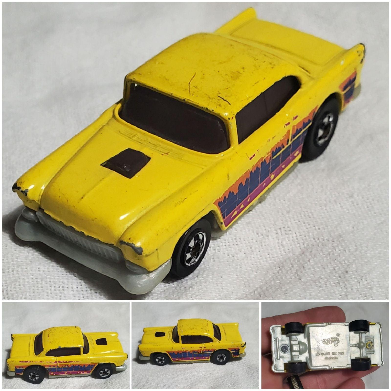 Hot Wheels Redline 57 Heavy Chevy Chrome Vintage 1976