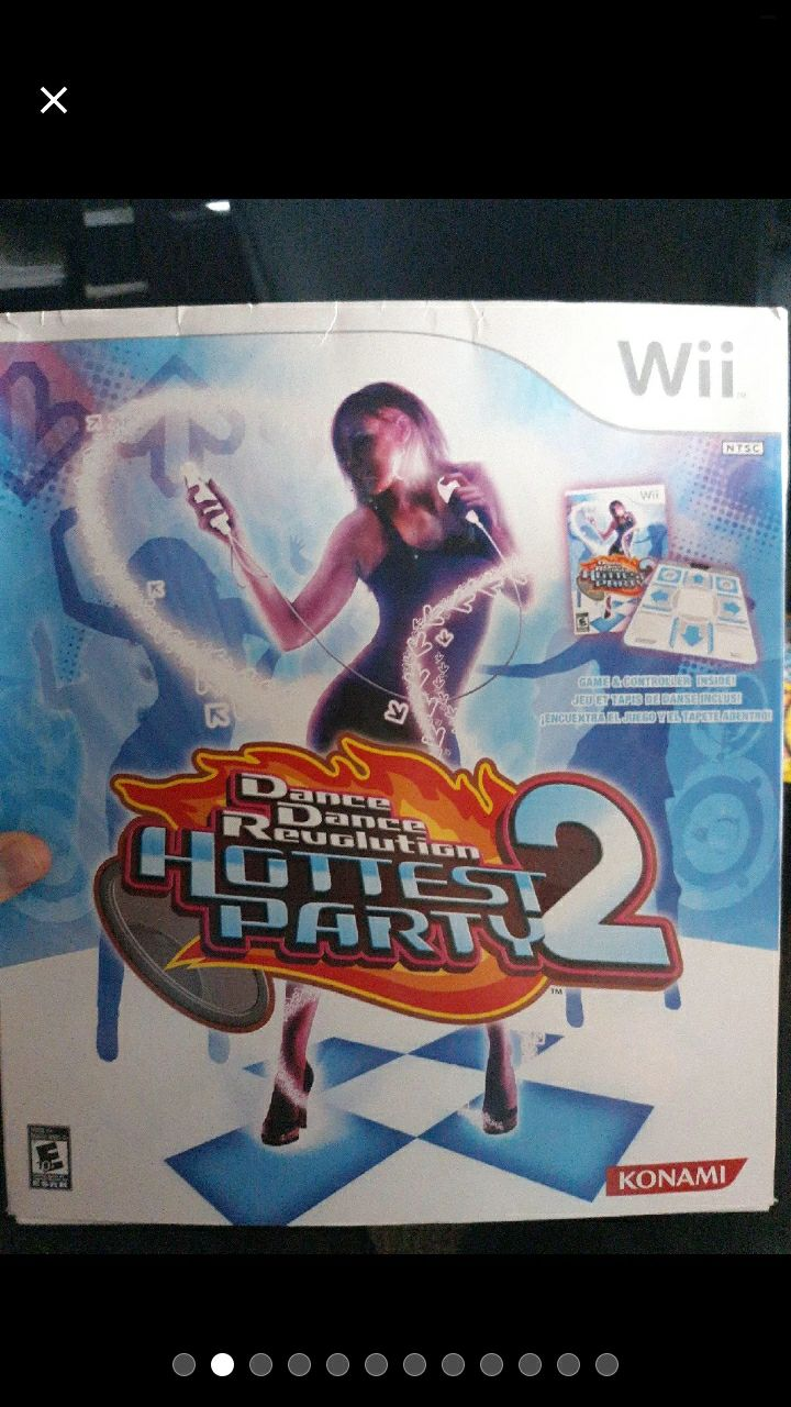 DDR: Hottest Party 2 Bundle With Game