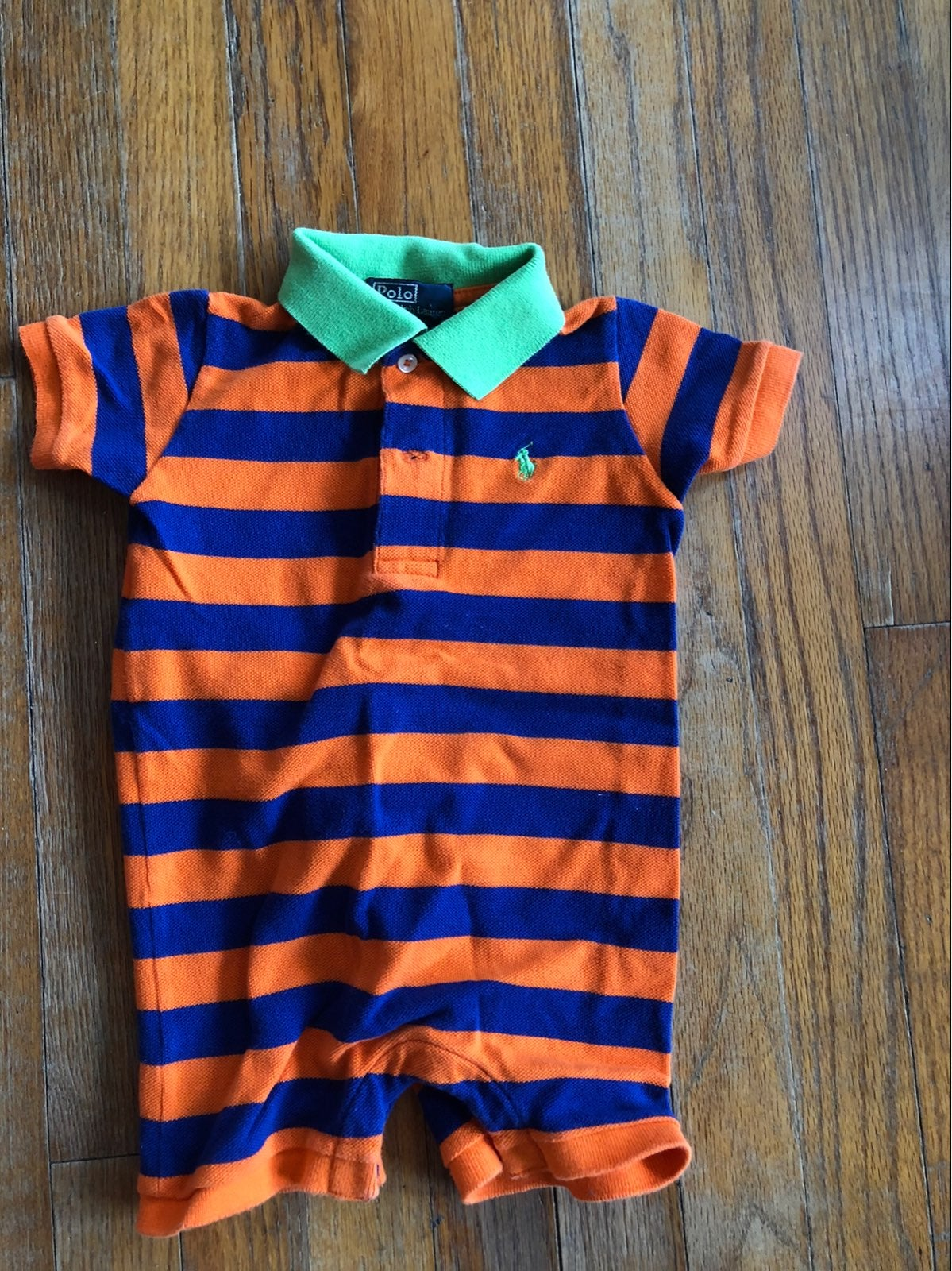 Boy's Polo One Piece Outfit | 9M