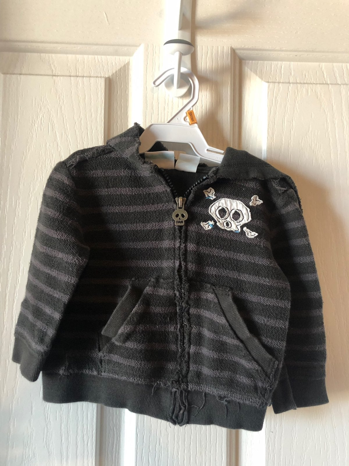Amy Coe Skull Hooded Jacket 12 Months