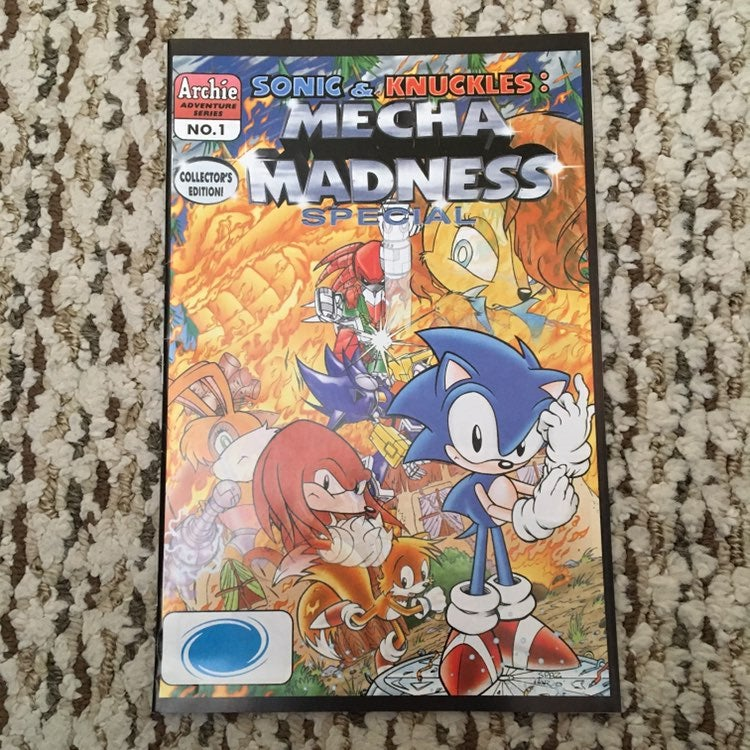 Sonic & Kunckles Mecha Madness Special #