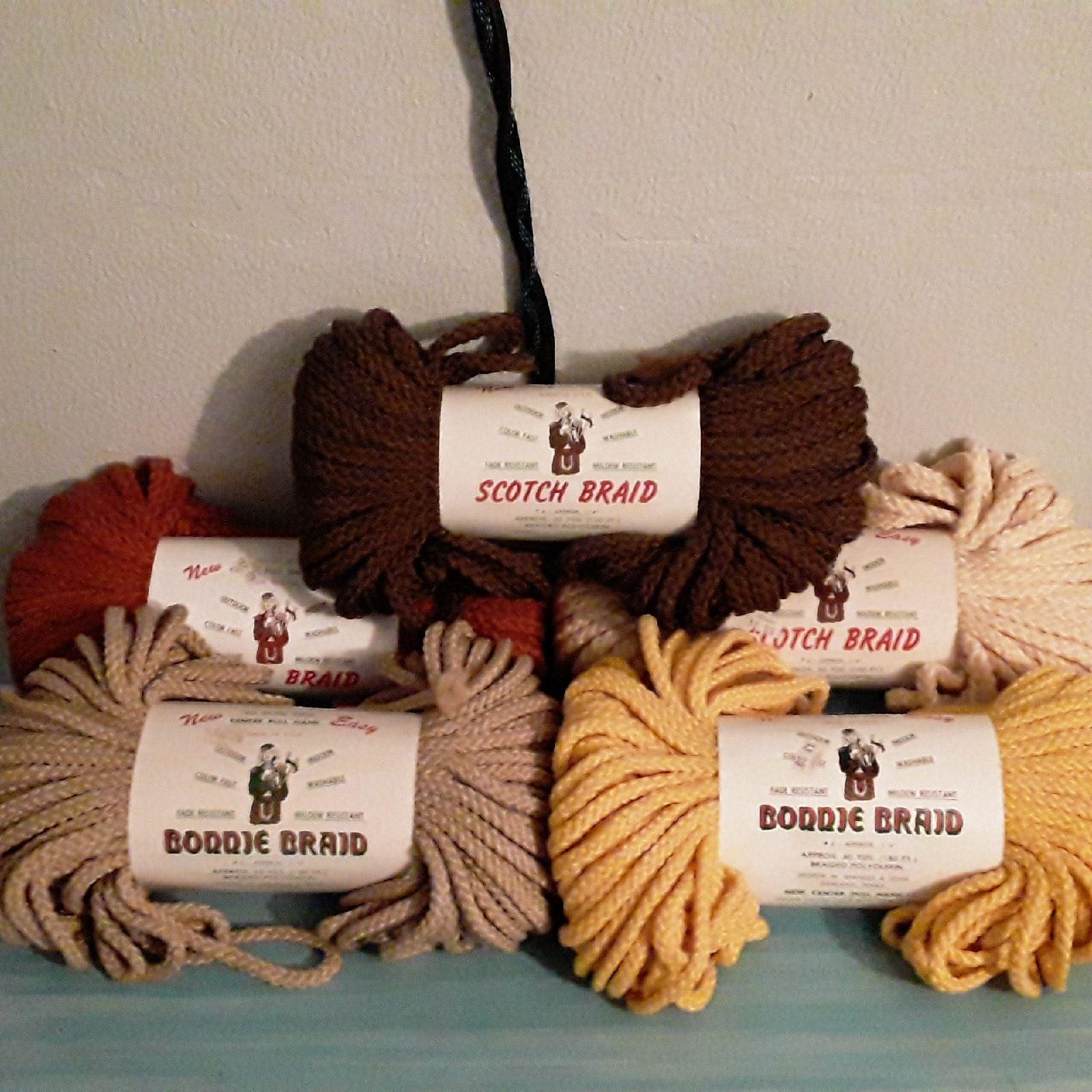 Lot of Various Colors Scotch Braid & Bon