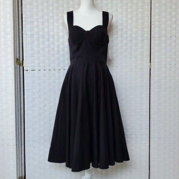 Samantha Sung Black Laudine Dress