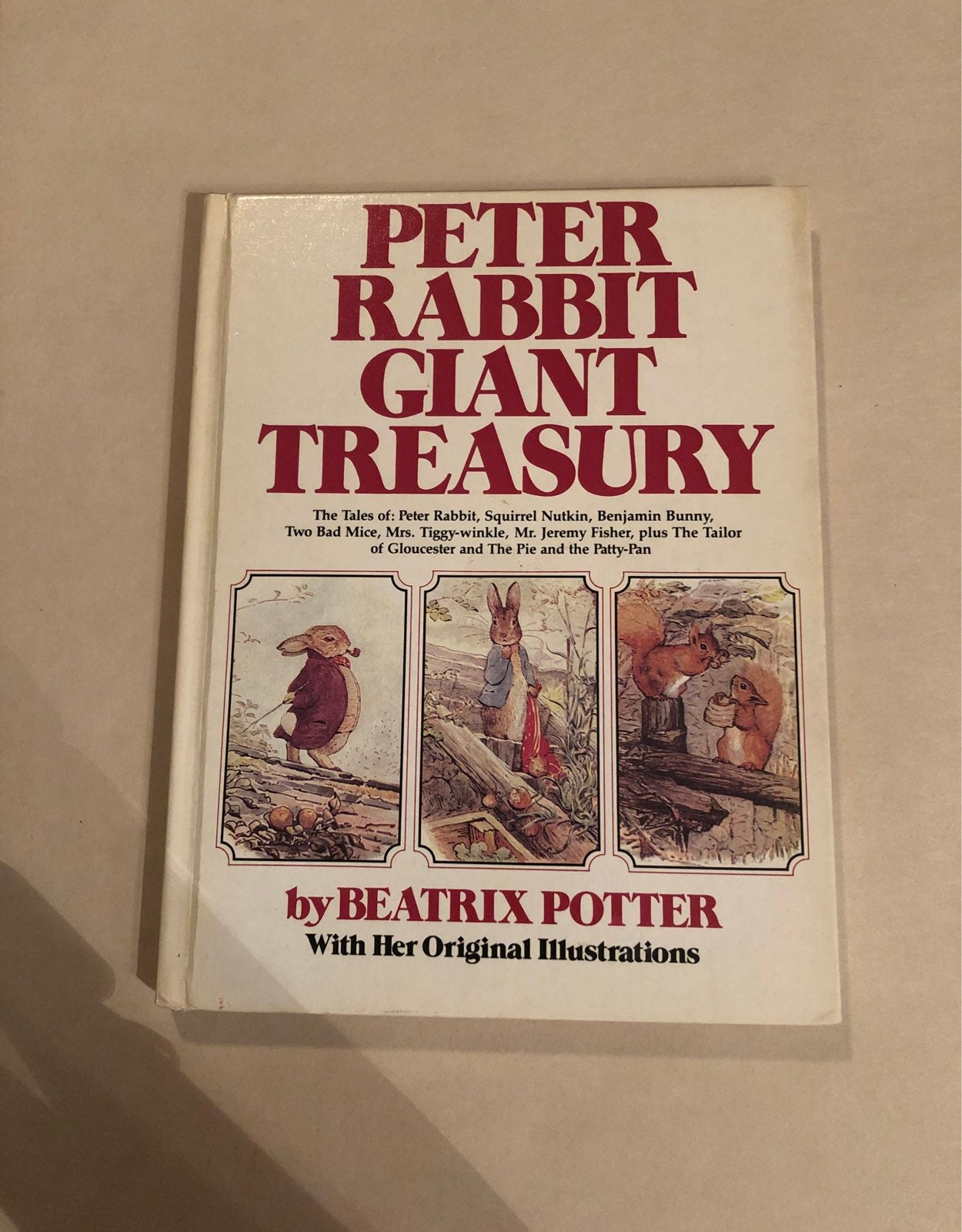 Vtg Peter Rabbit Giant Treasury by Beatr
