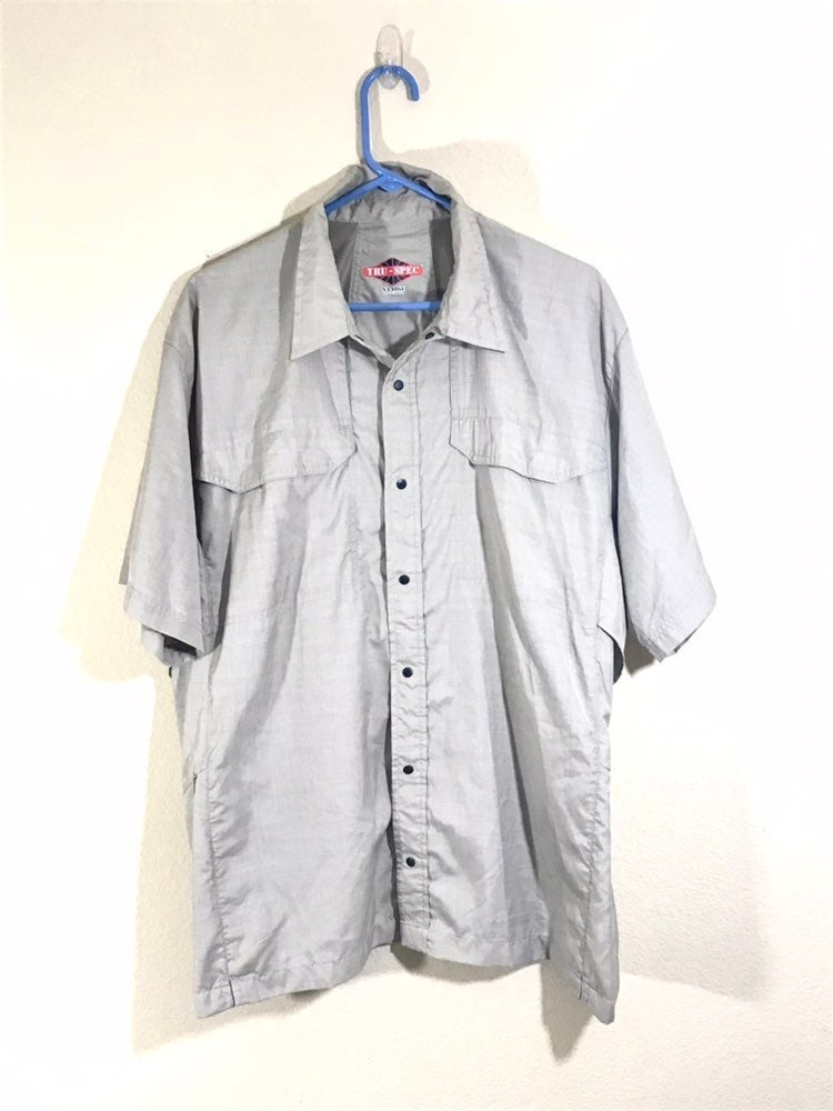 Mens Tru-Spec Fishing Shirt Size XL