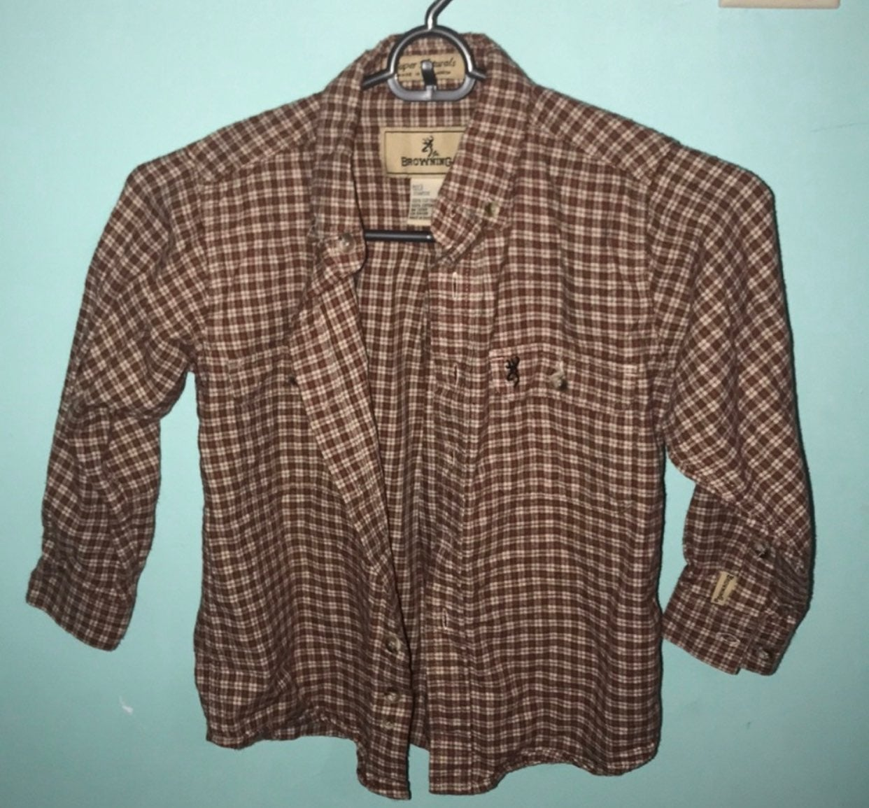 Browning plaid shirts