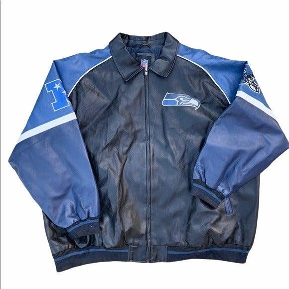 Seattle Seahawks Vintage NFL Jacket Mens