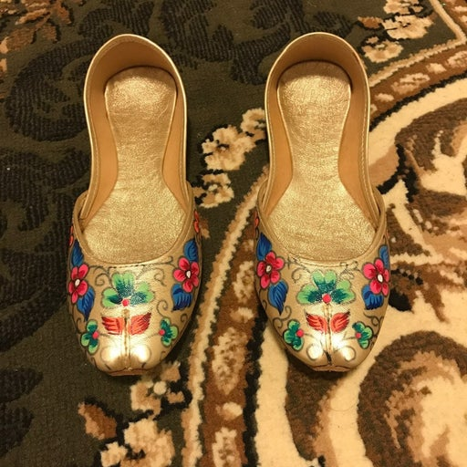 New Pakistani/Indian Leather Khussas by