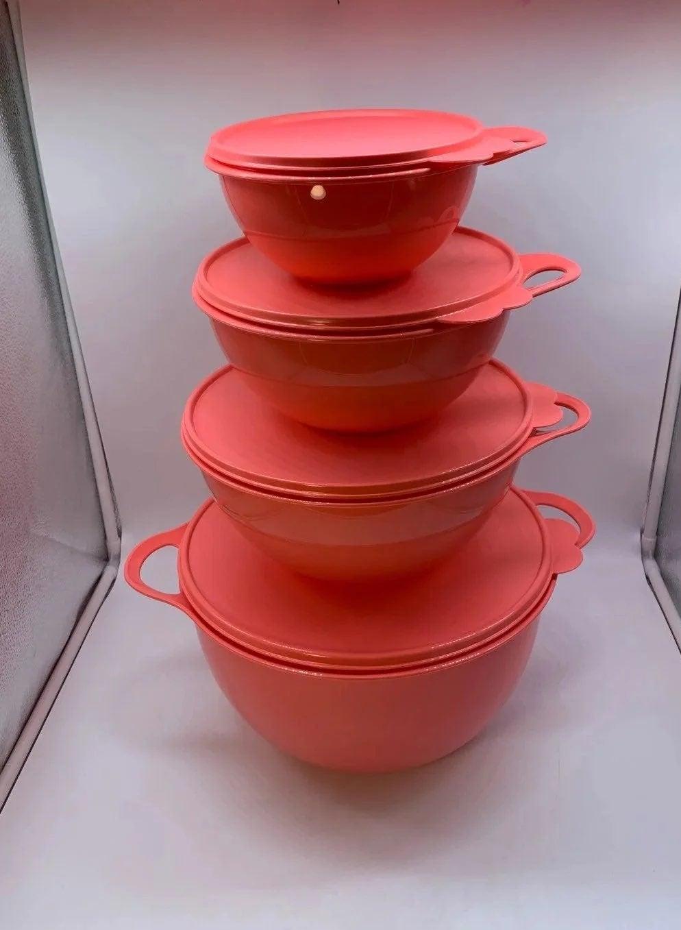 Tupperware Thatsa Bowls Mixing Set of 4