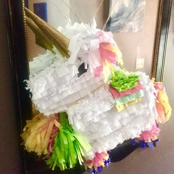 Large Handcrafted Pinata Unicorn/Horse