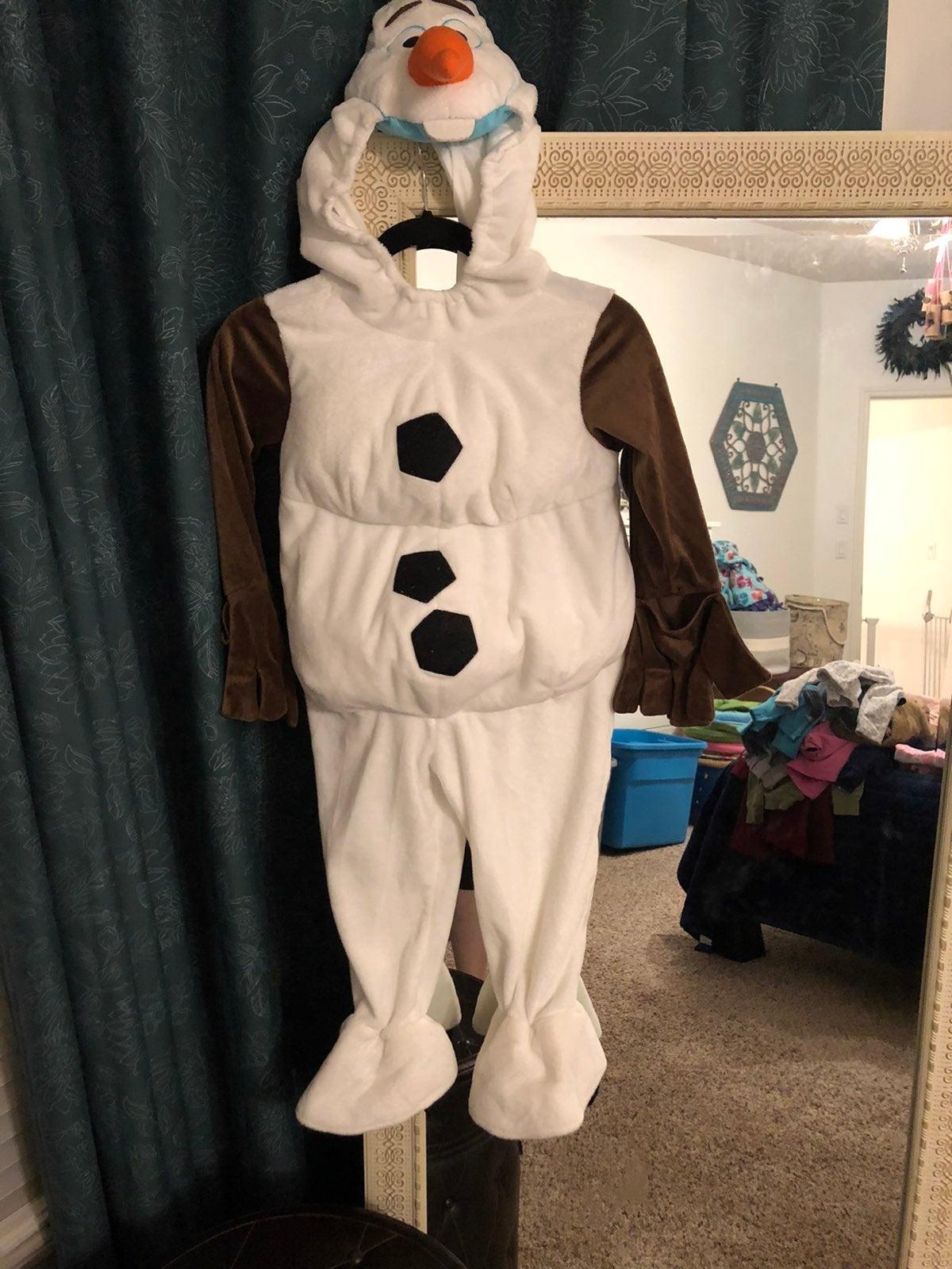 4T Olaf Frozen costume