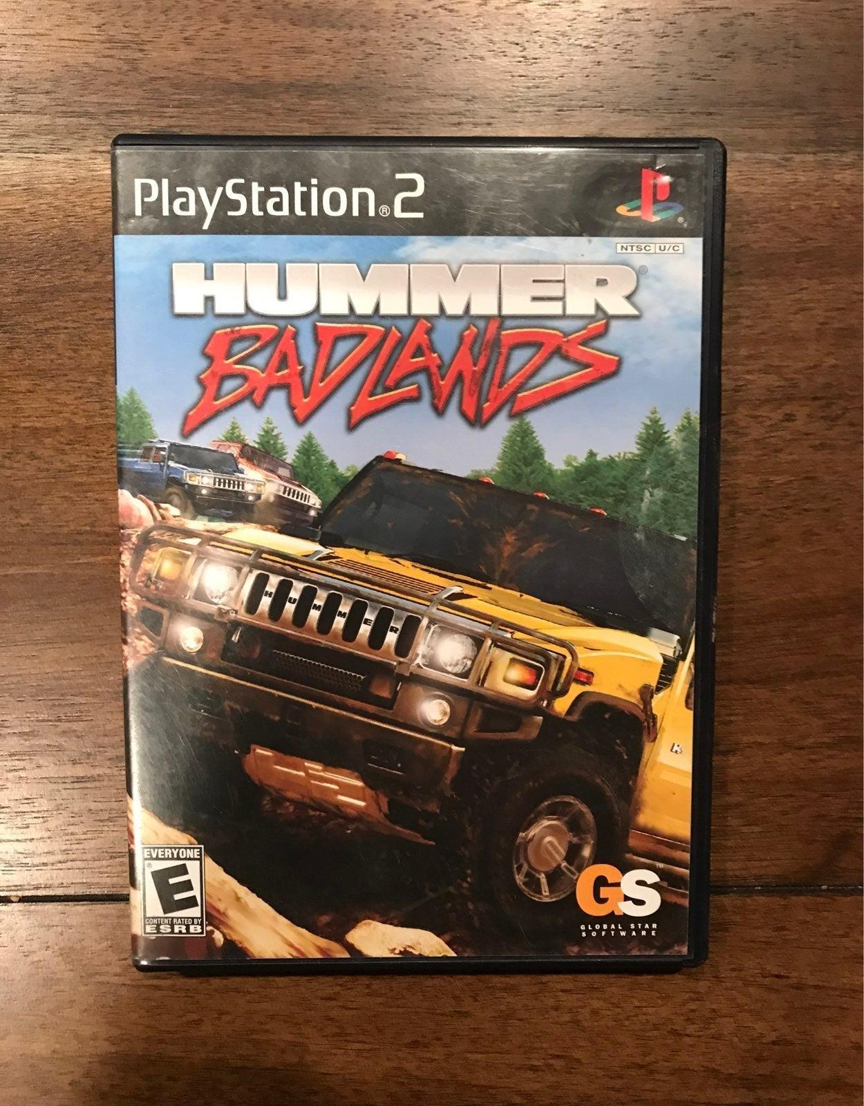 Hummer Badlands on Playstation 2