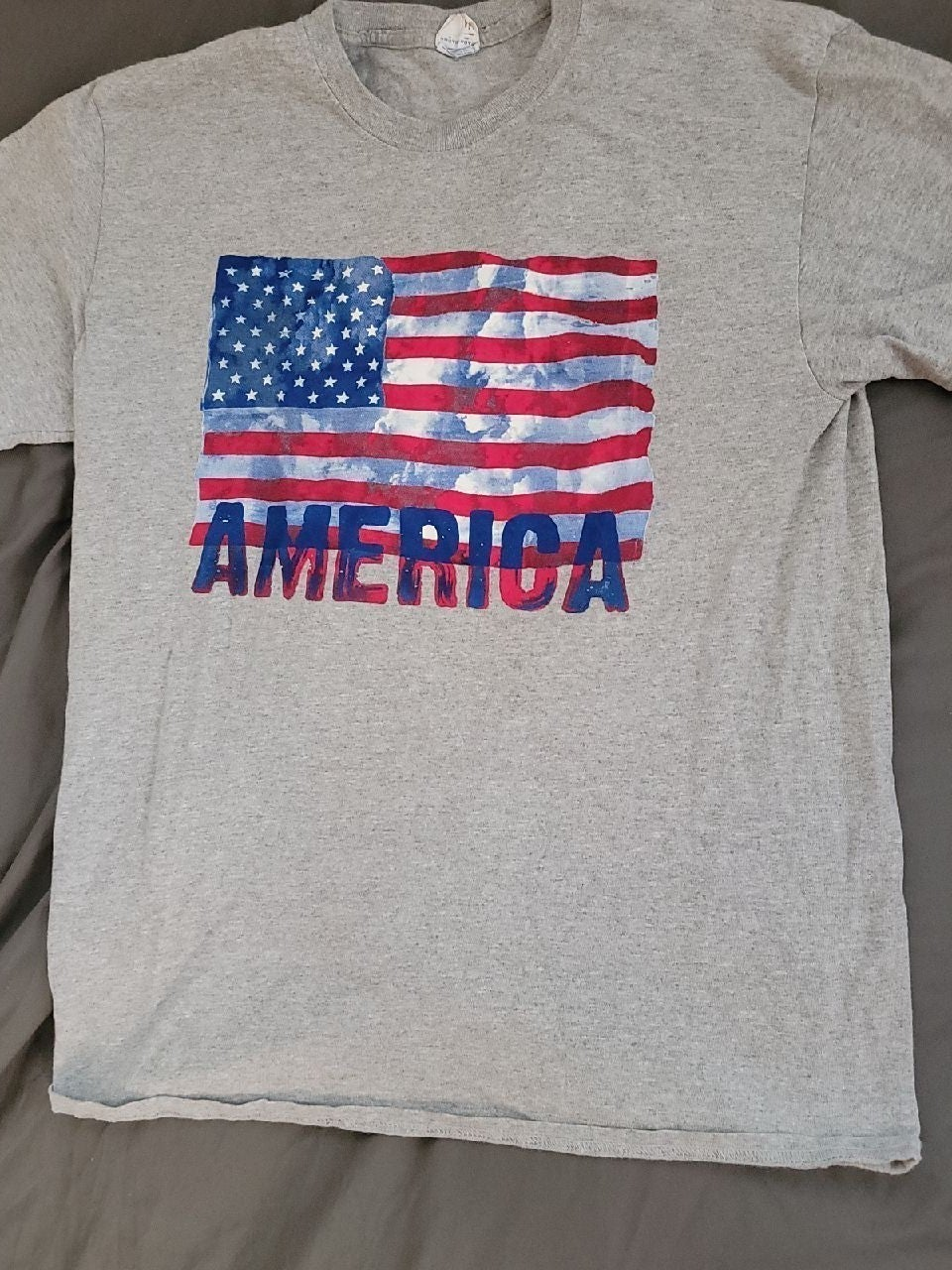 mens USA t shirt