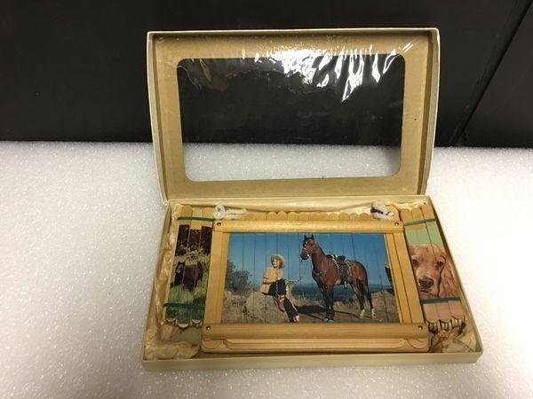 Vintage Popsicle Stick Art Kit - Cowgirl