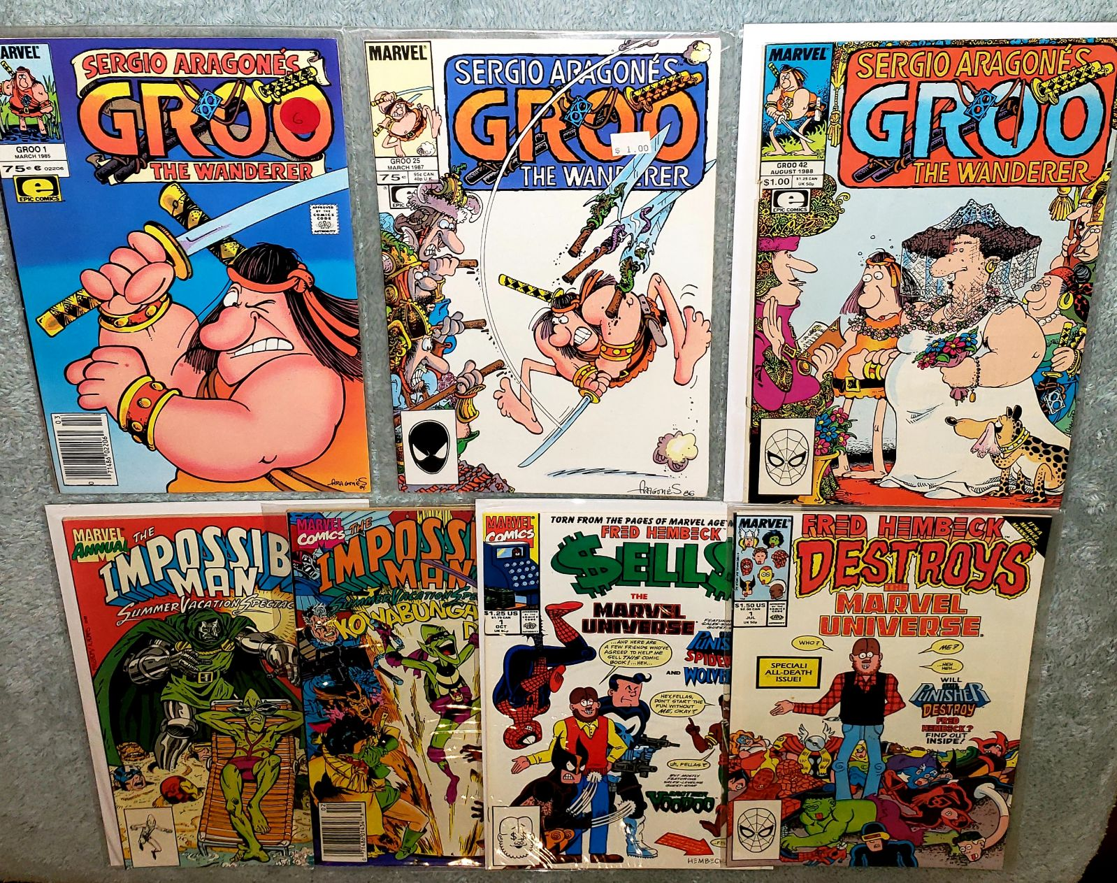 7 GROO IMPOSSIBLE MAN FRED HEMBECK