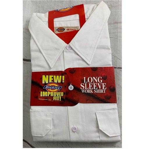 Men's Dickie's Work Shirt 4XL Tall NWT