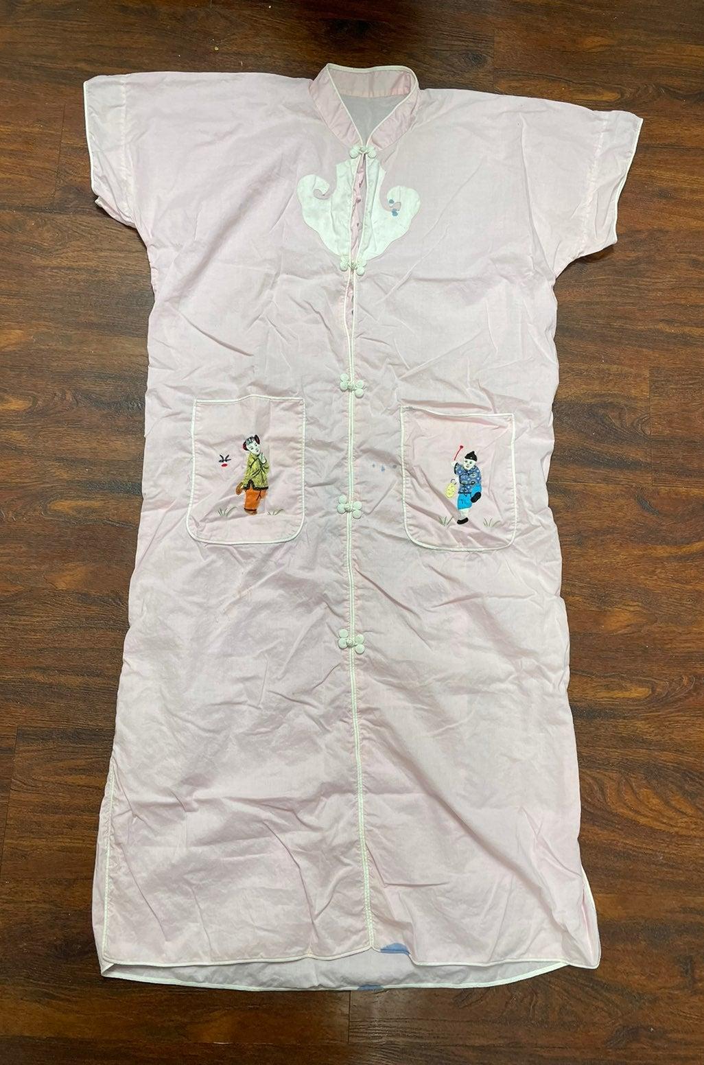 1960s asian pajamas rare and cool