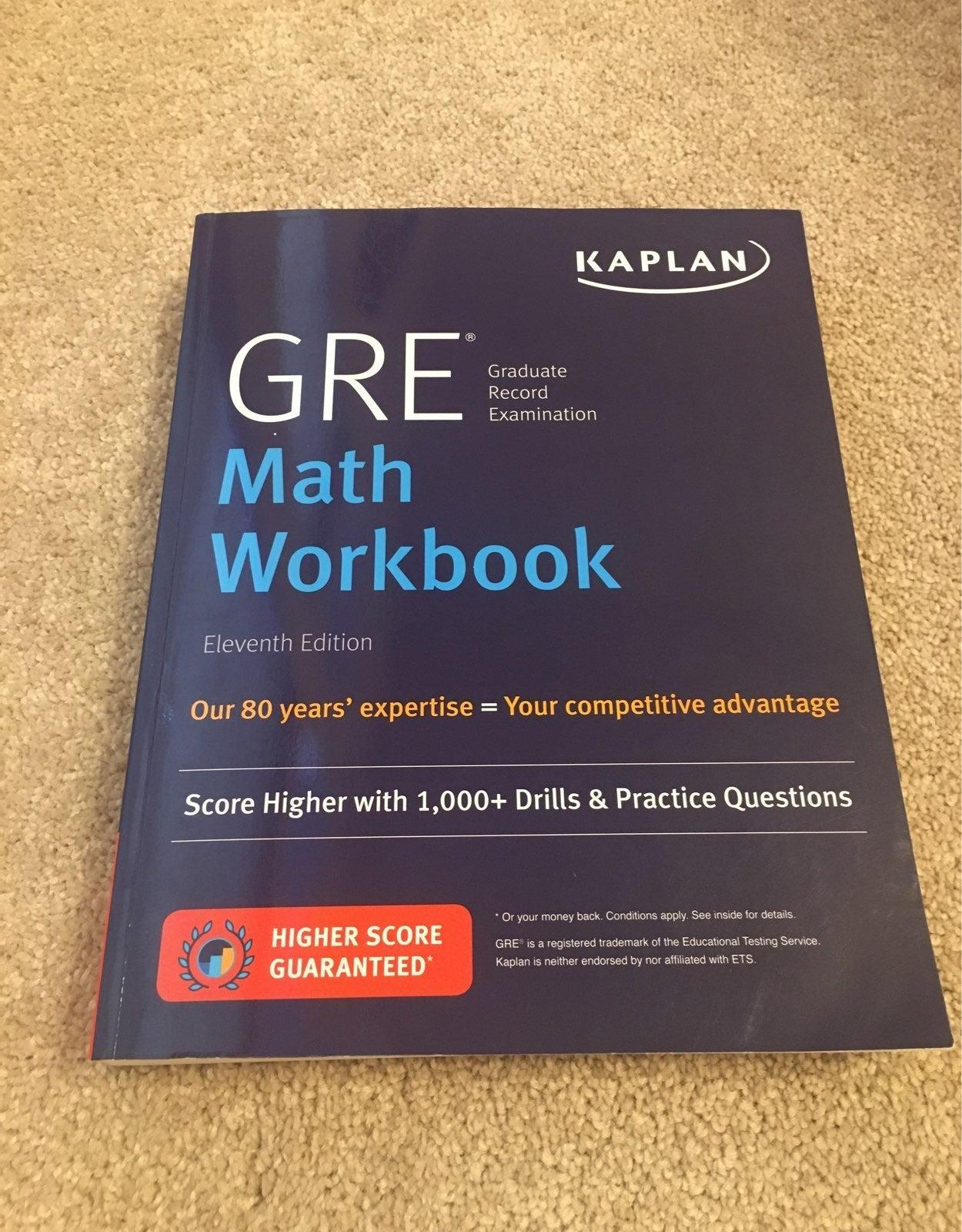 GRE Prep Math Workbook Kaplan