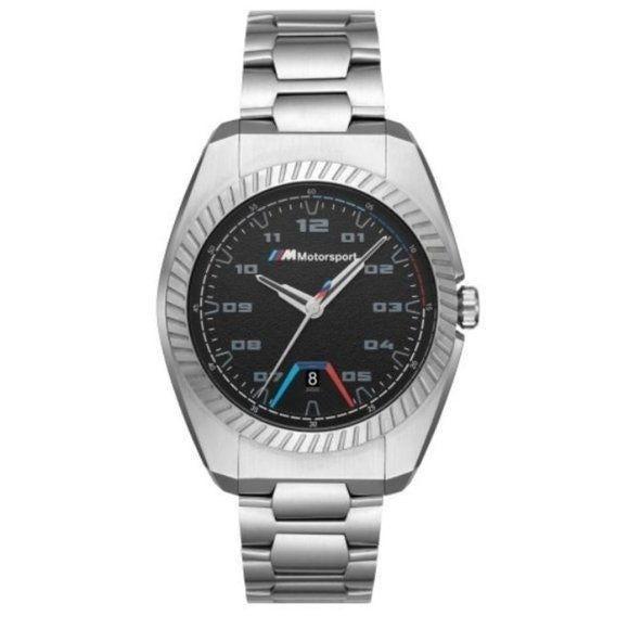 NWT BMW M Motorsport Black Dial Watch