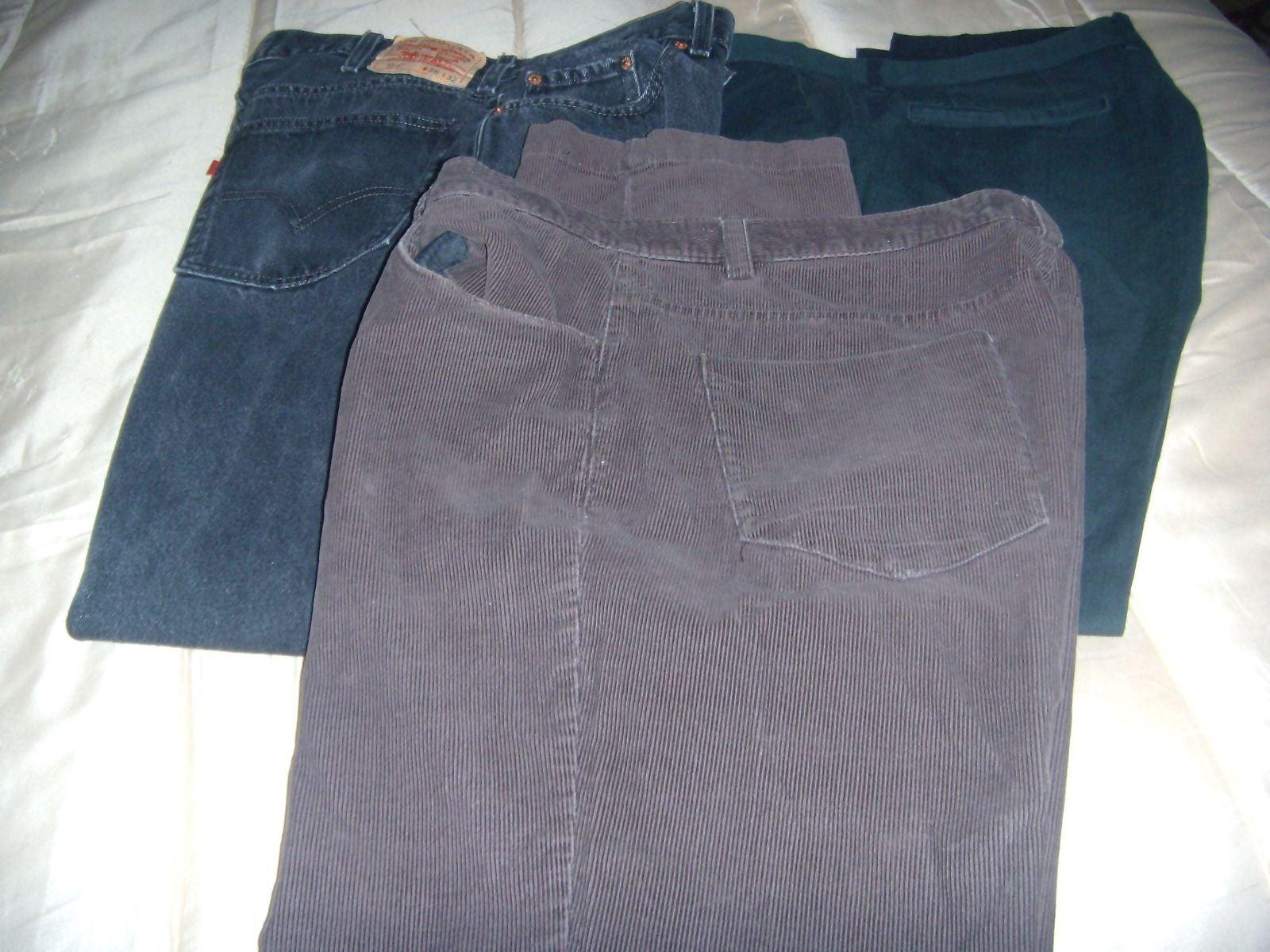 Mens 3 pairs of pants