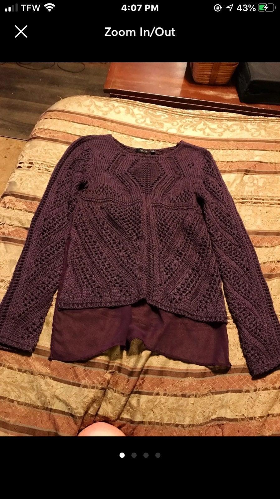 Dex sweater blouse m