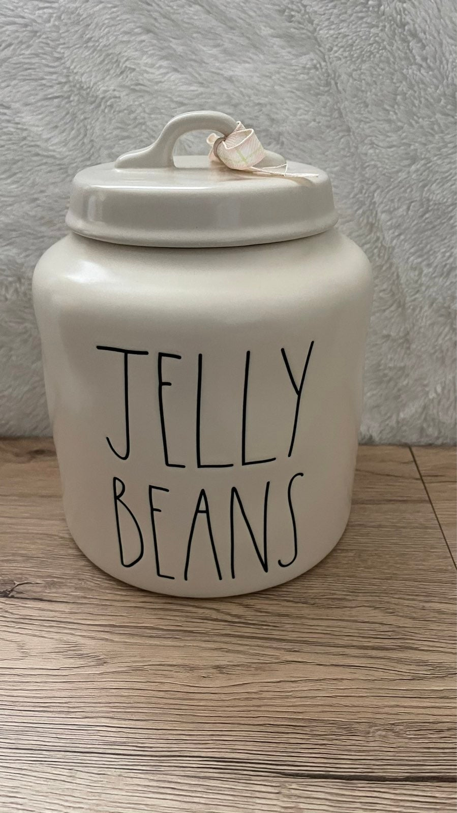 Rae Dunn JELLY BEANS Large Canister