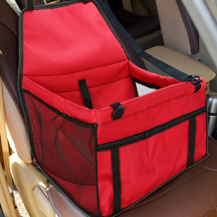 Pet Foldable Dog Car Seat Basket Carrier