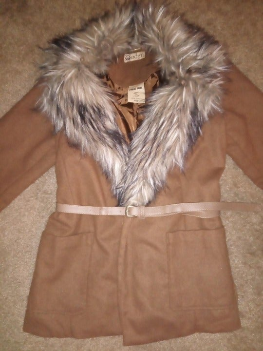 Odyn Faux fur jacket med