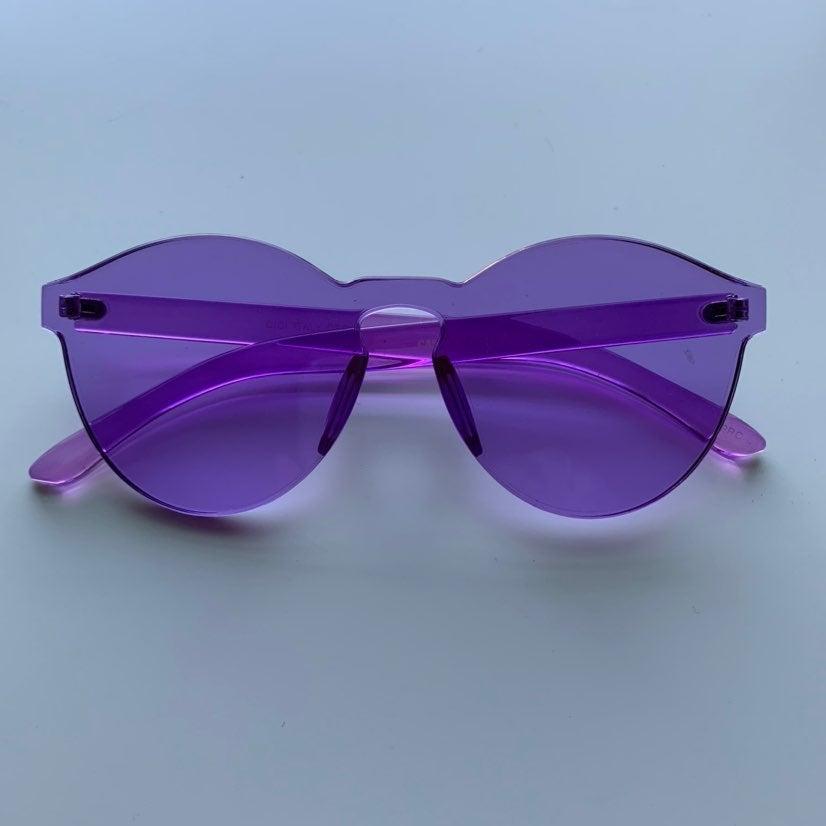 Purple tint glasses