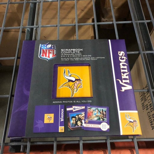 minnesota vikings Complete NFL Scrapbook