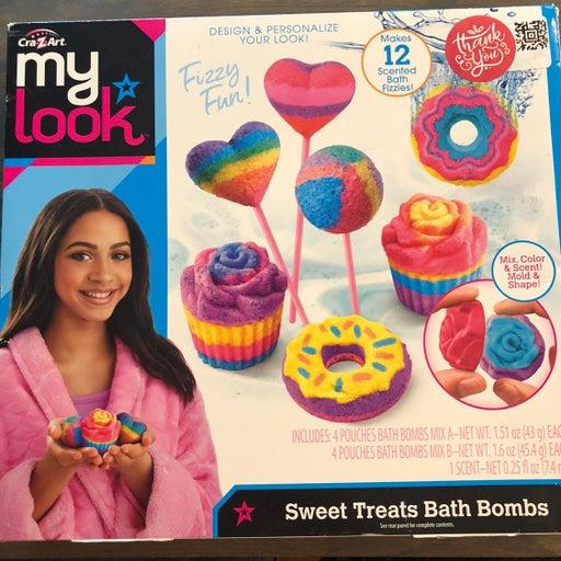 My look cra-z-art sweet treats bath bomb
