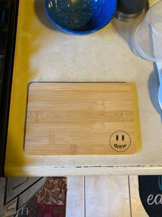 Drew House Engraved Cutting Board